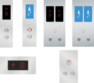 Lift Button Panel FOB310